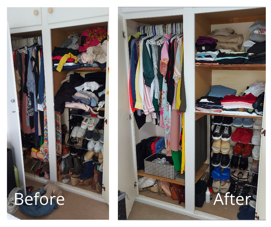 Simplicity Services Bedroom1 Before and After