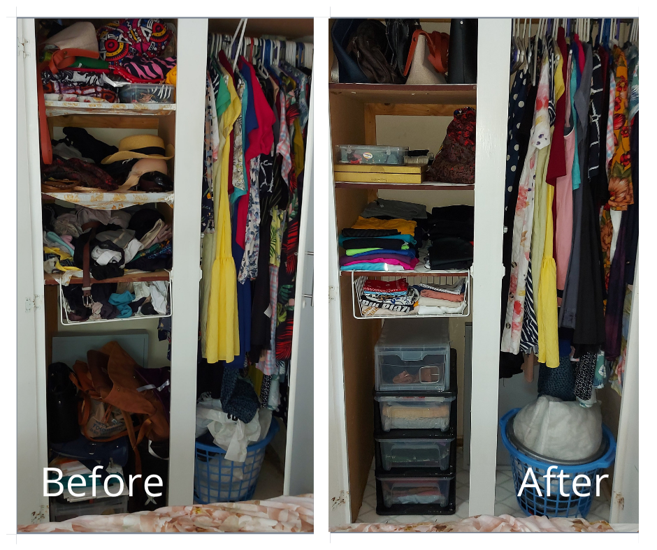 Simplicity Services Bedroom2 Before and After